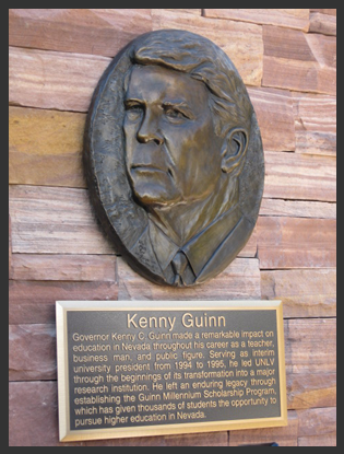 Quinn Dedication Plaque