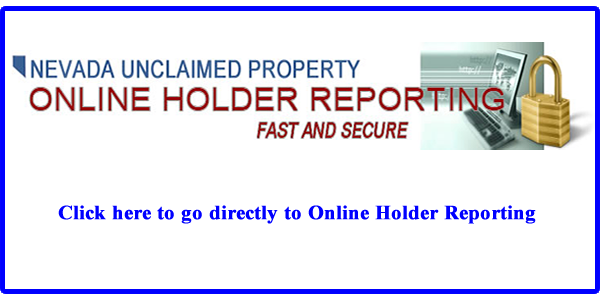Online Holder Reporting